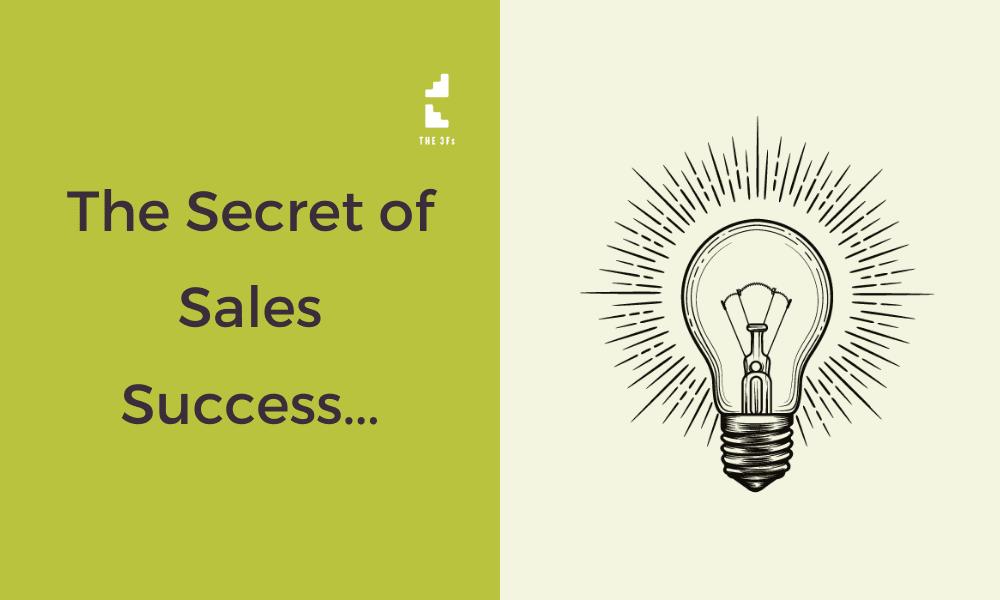 The Secret of Sales Success? ....Timing