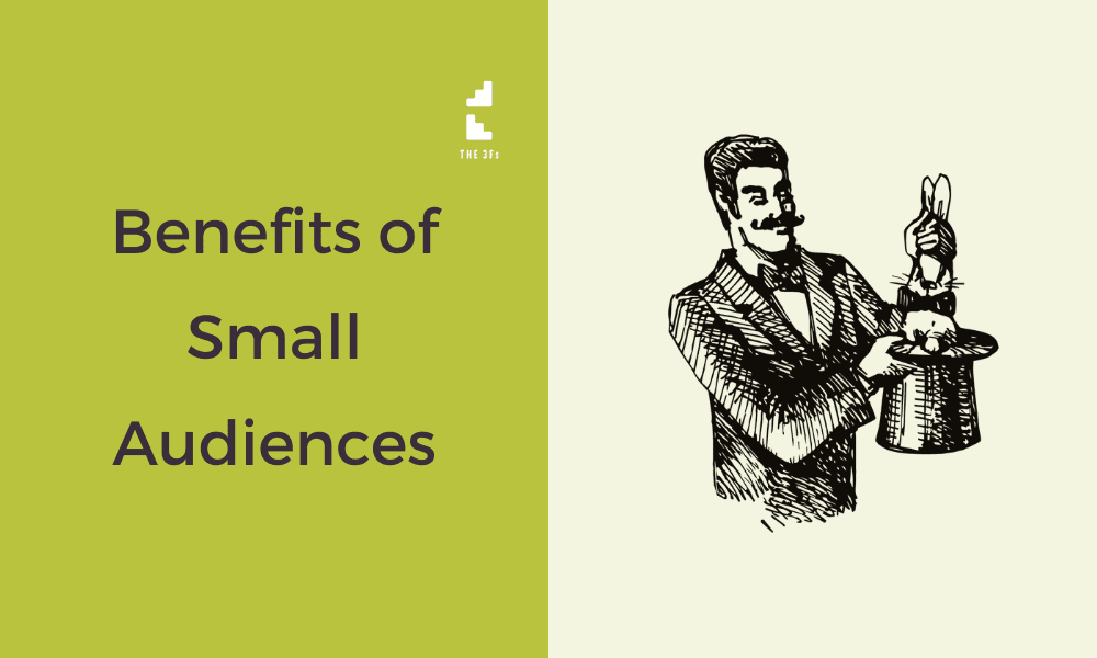 Benefits of Small Audiences